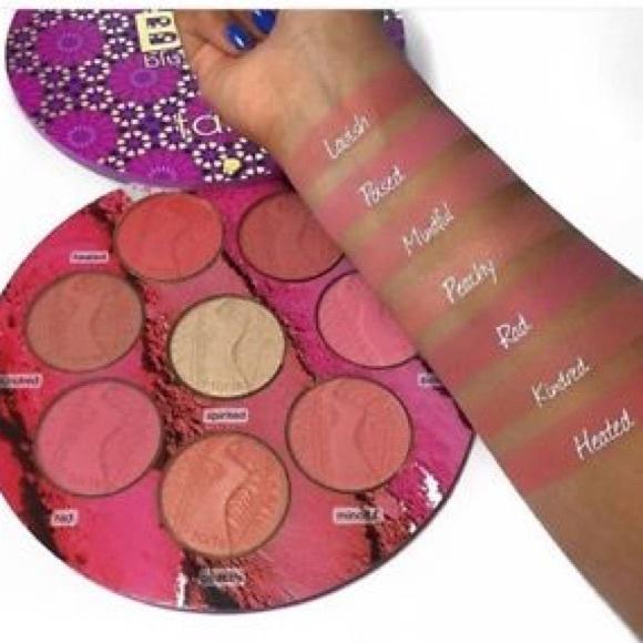 Tarte Makeup Nib Limited Edition Big Blush Book Volume 3 Poshmark